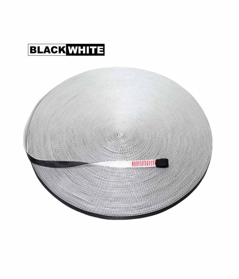 black white webbing