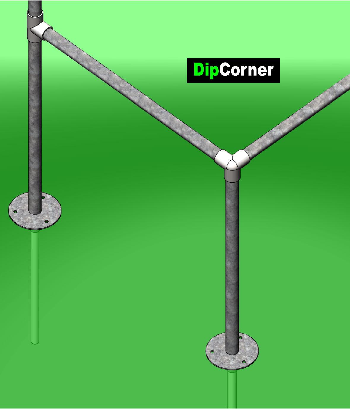 dip corner street workout