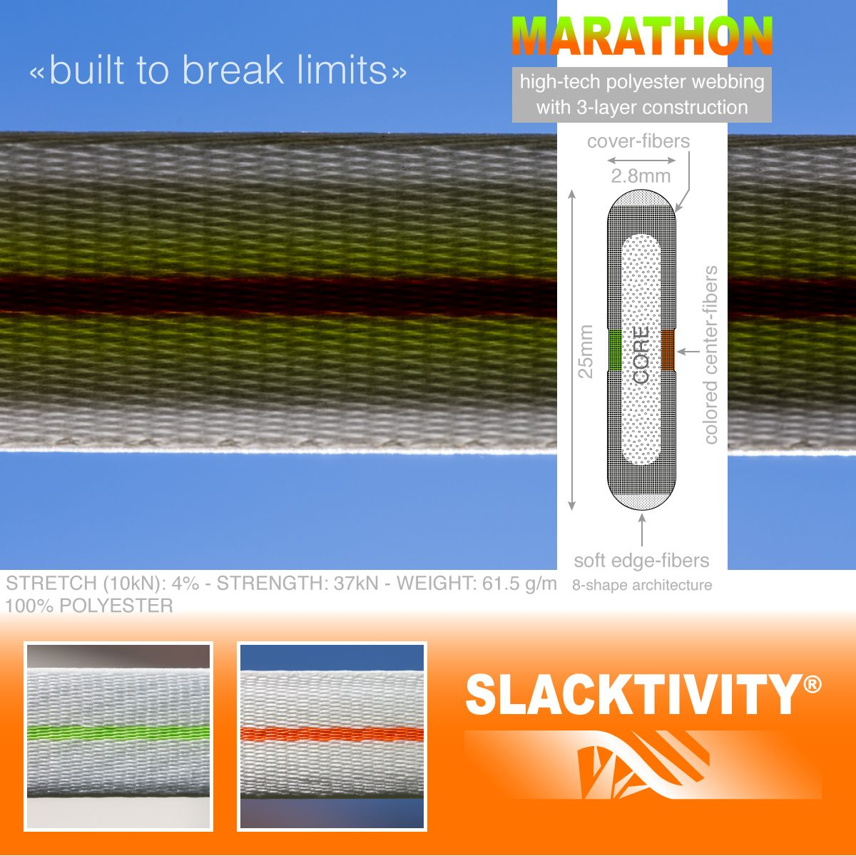 marathon webbing